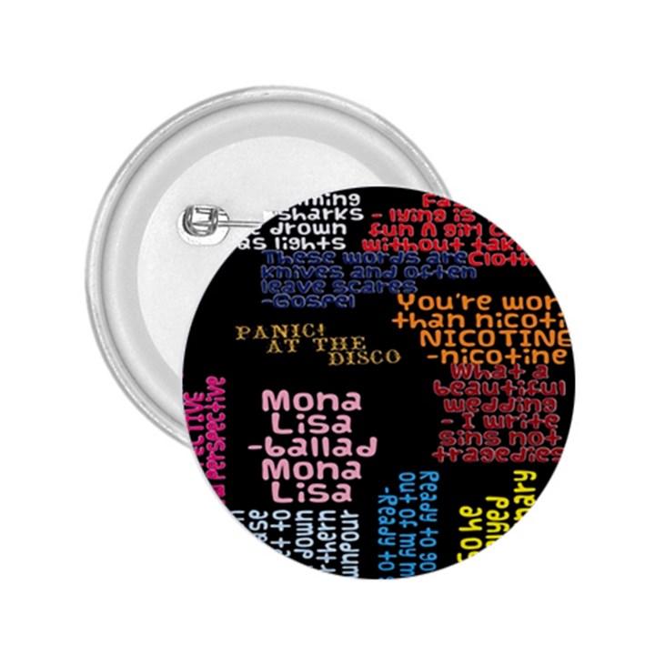 Panic At The Disco Northern Downpour Lyrics Metrolyrics 2.25  Buttons