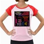 Panic At The Disco Northern Downpour Lyrics Metrolyrics Women s Cap Sleeve T-Shirt Front