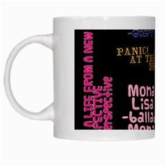 Panic At The Disco Northern Downpour Lyrics Metrolyrics White Mugs
