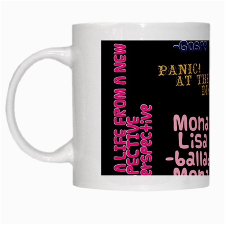 Panic At The Disco Northern Downpour Lyrics Metrolyrics White Mugs