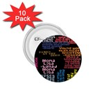 Panic At The Disco Northern Downpour Lyrics Metrolyrics 1.75  Buttons (10 pack) Front