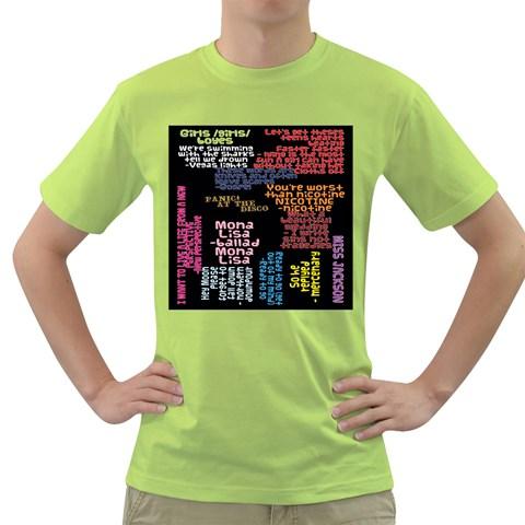 Panic At The Disco Northern Downpour Lyrics Metrolyrics Green T-Shirt