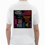 Panic At The Disco Northern Downpour Lyrics Metrolyrics Golf Shirts Back