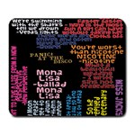 Panic At The Disco Northern Downpour Lyrics Metrolyrics Large Mousepads Front