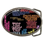 Panic At The Disco Northern Downpour Lyrics Metrolyrics Belt Buckles Front