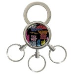 Panic At The Disco Northern Downpour Lyrics Metrolyrics 3-Ring Key Chains Front