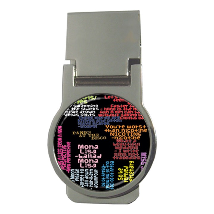 Panic At The Disco Northern Downpour Lyrics Metrolyrics Money Clips (Round)