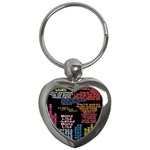 Panic At The Disco Northern Downpour Lyrics Metrolyrics Key Chains (Heart)  Front