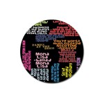 Panic At The Disco Northern Downpour Lyrics Metrolyrics Magnet 3  (Round) Front