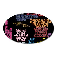 Panic At The Disco Northern Downpour Lyrics Metrolyrics Oval Magnet
