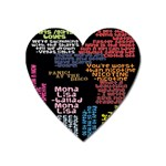 Panic At The Disco Northern Downpour Lyrics Metrolyrics Heart Magnet Front