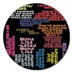Panic At The Disco Northern Downpour Lyrics Metrolyrics Magnet 5  (Round) Front