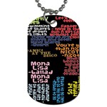 Panic At The Disco Northern Downpour Lyrics Metrolyrics Dog Tag (Two Sides) Front