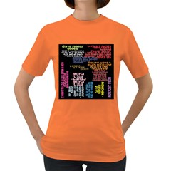 Panic At The Disco Northern Downpour Lyrics Metrolyrics Women s Dark T Shirt