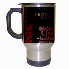 Panic At The Disco Northern Downpour Lyrics Metrolyrics Travel Mug (Silver Gray)