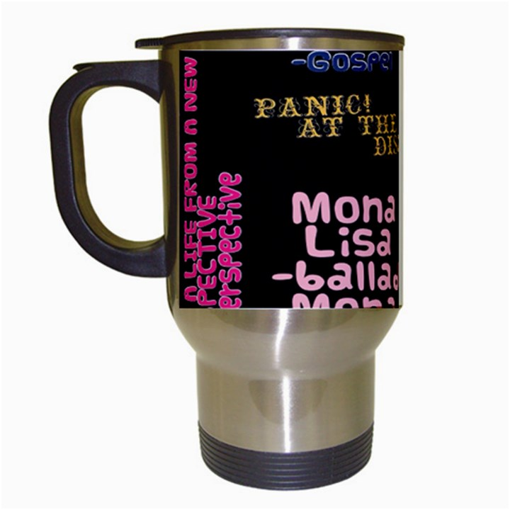Panic At The Disco Northern Downpour Lyrics Metrolyrics Travel Mugs (White)