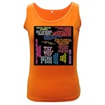 Panic At The Disco Northern Downpour Lyrics Metrolyrics Women s Dark Tank Top Front