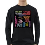 Panic At The Disco Northern Downpour Lyrics Metrolyrics Long Sleeve Dark T-Shirts Front