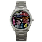 Panic At The Disco Northern Downpour Lyrics Metrolyrics Sport Metal Watch Front
