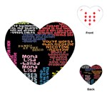 Panic At The Disco Northern Downpour Lyrics Metrolyrics Playing Cards (Heart)  Front