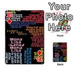 Panic At The Disco Northern Downpour Lyrics Metrolyrics Playing Cards 54 Designs  Front - Diamond10