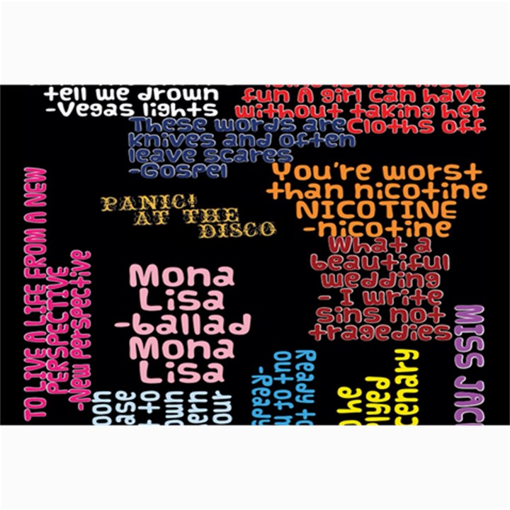 Panic At The Disco Northern Downpour Lyrics Metrolyrics Collage Prints