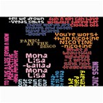 Panic At The Disco Northern Downpour Lyrics Metrolyrics Collage Prints 18 x12 Print - 3