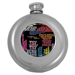 Panic At The Disco Northern Downpour Lyrics Metrolyrics Round Hip Flask (5 oz)
