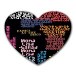 Panic At The Disco Northern Downpour Lyrics Metrolyrics Heart Mousepads Front