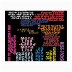 Panic At The Disco Northern Downpour Lyrics Metrolyrics Small Glasses Cloth (2-Side) Back