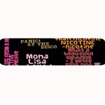 Panic At The Disco Northern Downpour Lyrics Metrolyrics Large Bar Mats 34 x9.03 Bar Mat - 1