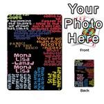 Panic At The Disco Northern Downpour Lyrics Metrolyrics Multi-purpose Cards (Rectangle)  Back 25