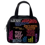 Panic At The Disco Northern Downpour Lyrics Metrolyrics Classic Handbags (One Side) Front