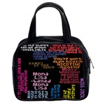 Panic At The Disco Northern Downpour Lyrics Metrolyrics Classic Handbags (2 Sides) Front