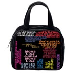 Panic At The Disco Northern Downpour Lyrics Metrolyrics Classic Handbags (2 Sides) Back