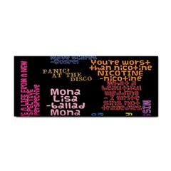 Panic At The Disco Northern Downpour Lyrics Metrolyrics Hand Towel