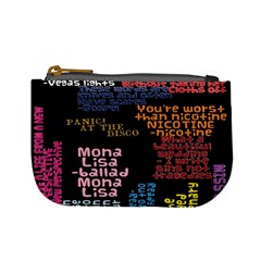 Panic At The Disco Northern Downpour Lyrics Metrolyrics Mini Coin Purses