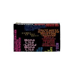 Panic At The Disco Northern Downpour Lyrics Metrolyrics Cosmetic Bag (Small)