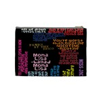 Panic At The Disco Northern Downpour Lyrics Metrolyrics Cosmetic Bag (Medium)  Back