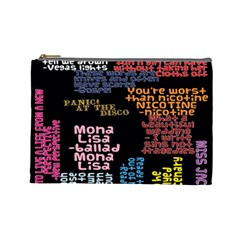 Panic At The Disco Northern Downpour Lyrics Metrolyrics Cosmetic Bag (Large)