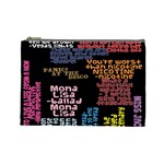 Panic At The Disco Northern Downpour Lyrics Metrolyrics Cosmetic Bag (Large)  Front