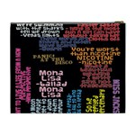 Panic At The Disco Northern Downpour Lyrics Metrolyrics Cosmetic Bag (XL) Back