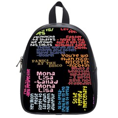 Panic At The Disco Northern Downpour Lyrics Metrolyrics School Bags (Small)