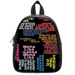 Panic At The Disco Northern Downpour Lyrics Metrolyrics School Bags (Small)  Front