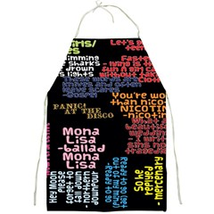 Panic At The Disco Northern Downpour Lyrics Metrolyrics Full Print Aprons