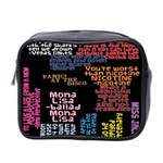 Panic At The Disco Northern Downpour Lyrics Metrolyrics Mini Toiletries Bag 2-Side Front