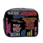 Panic At The Disco Northern Downpour Lyrics Metrolyrics Mini Toiletries Bag 2-Side Back
