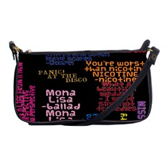 Panic At The Disco Northern Downpour Lyrics Metrolyrics Shoulder Clutch Bags