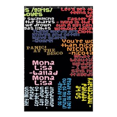 Panic At The Disco Northern Downpour Lyrics Metrolyrics Shower Curtain 48  X 72  (small)