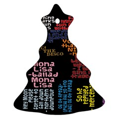 Panic At The Disco Northern Downpour Lyrics Metrolyrics Ornament (Christmas Tree)